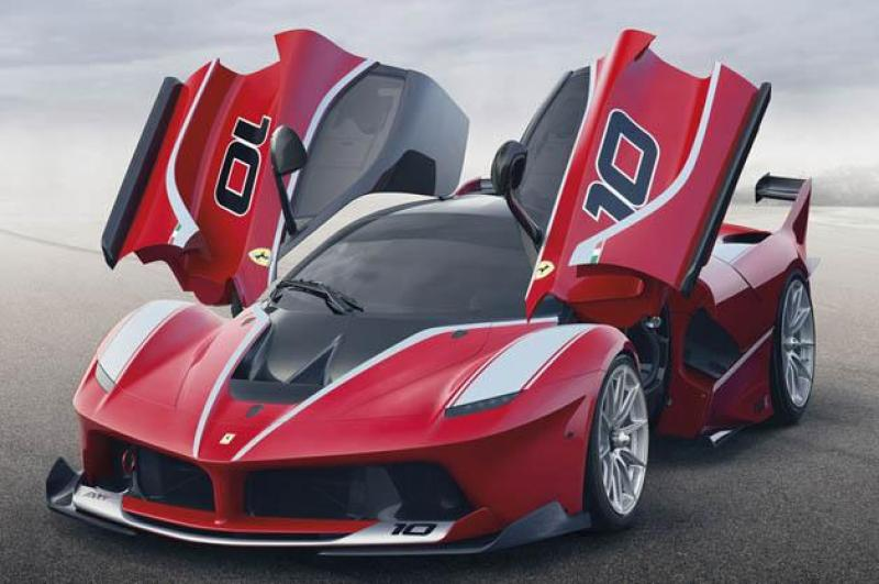 "Cover for La Ferrari gets the ""Double X treatment"""