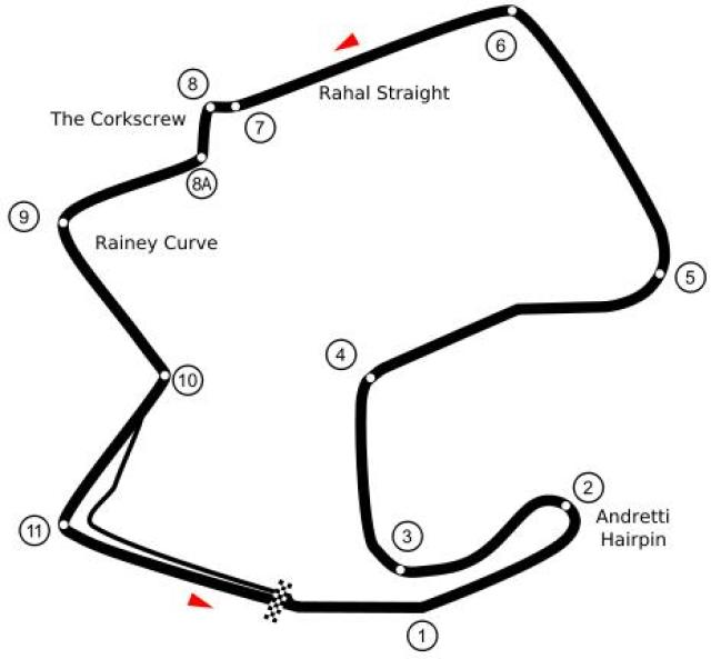 Image of Laguna Seca (post 1988)