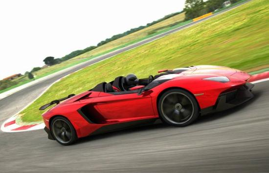 Image of Lamborghini Aventador J