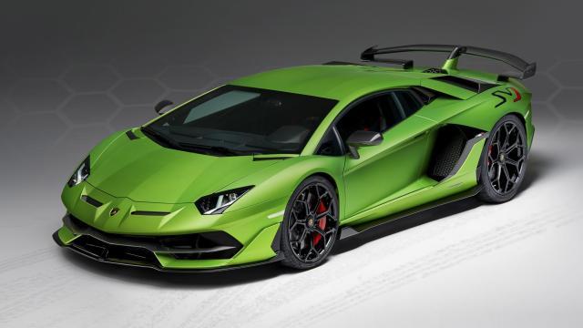 Image of Lamborghini Aventador SVJ