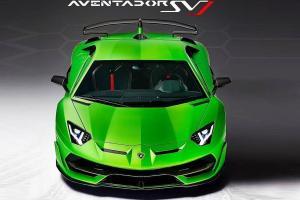 Picture of Lamborghini Aventador SVJ