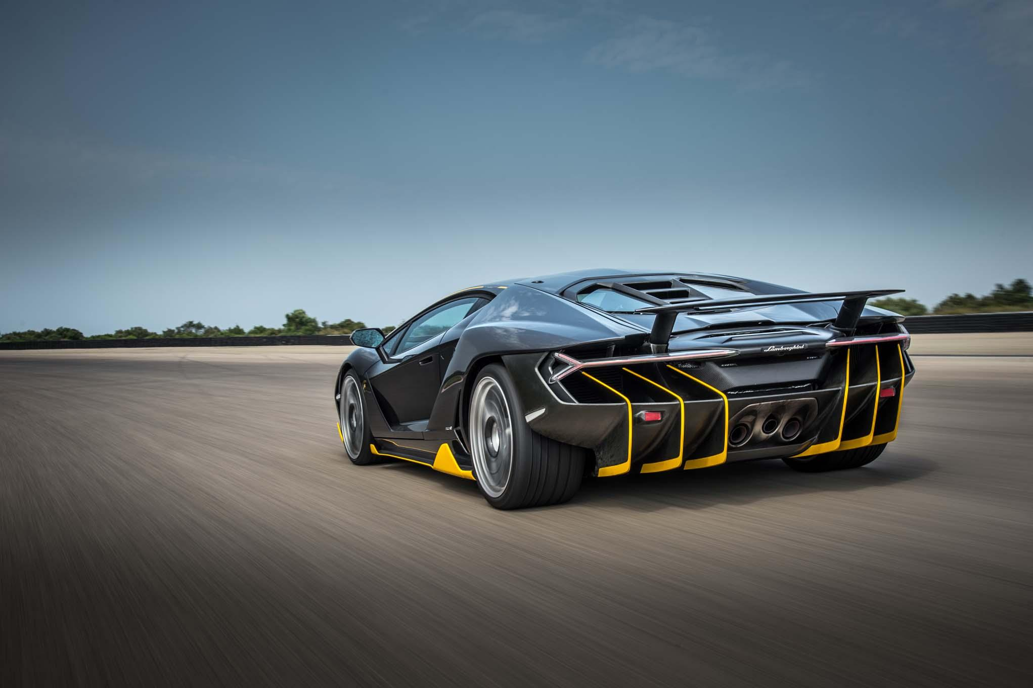 Lamborghini Centenario Lp770 4 Laptimes Specs Performance Data
