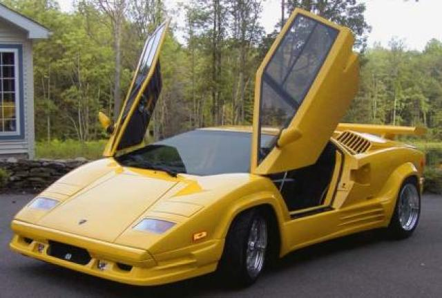 Image of Lamborghini Countach 25TH Anniversary