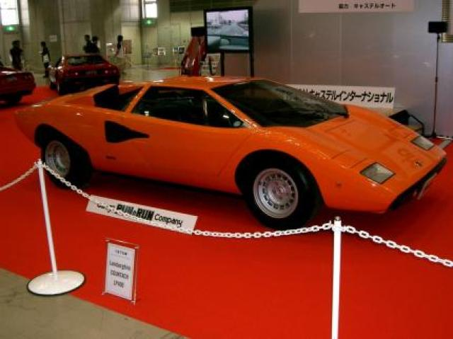 Lamborghini Countach Lp400 Laptimes Specs Performance Data