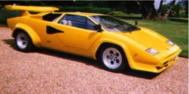 Lamborghini Countach Lp400s Laptimes Specs Performance Data
