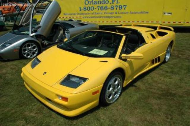 Lamborghini Diablo Vt Roadster Laptimes Specs Performance Data