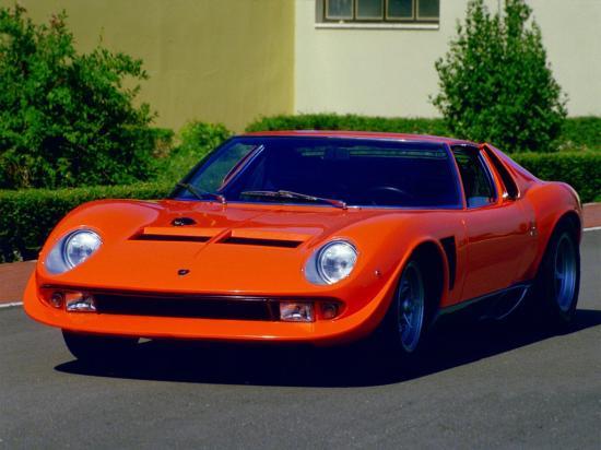 Image of Lamborghini Miura SVJ