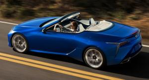 Photo of Lexus LC 500 Convertible