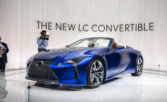Image of Lexus LC 500 Convertible