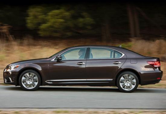 Image of Lexus LS 600H L