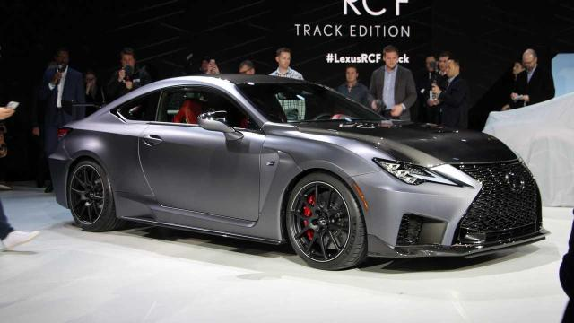 Image of Lexus RC F Track Edition