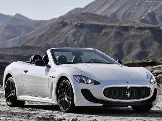 Image of Maserati GranCabrio MC