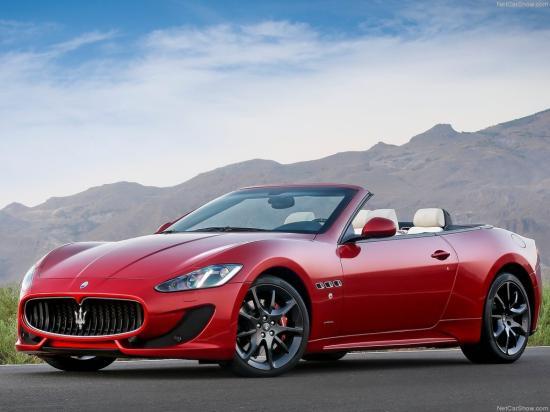 Image of Maserati GranCabrio Sport