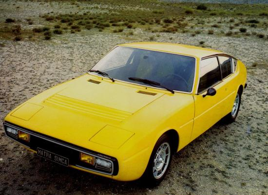 Image of Matra-Simca Bagheera X