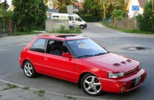 Photo of Mazda 323 GTR