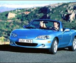 Picture of Mazda MX-5 1.8 MZR