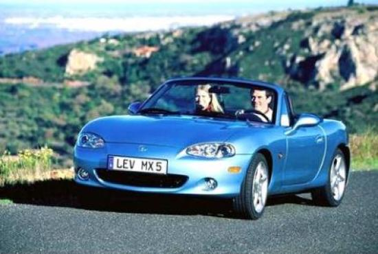 Image of Mazda MX-5 1.8 MZR
