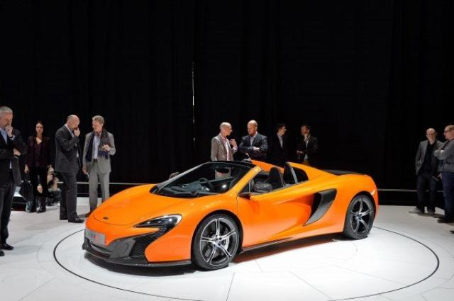 Image of McLaren 650 S Spider