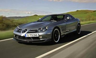 Image of McLaren Mercedes SLR 722