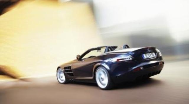 Image of McLaren Mercedes SLR Roadster