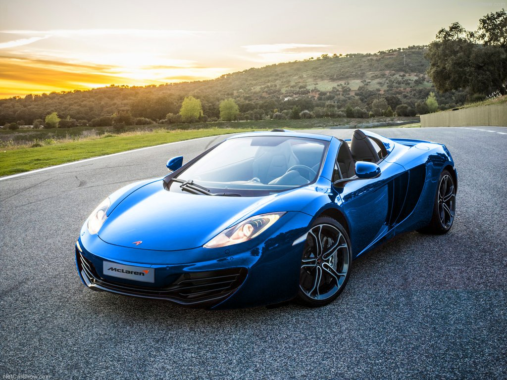 mclaren mp4-12c spider laptimes, specs, performance data