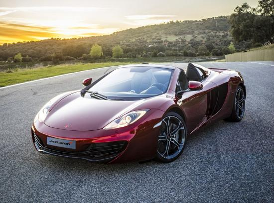 Image of McLaren MP4-12C Spider