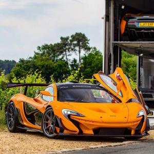 Photo of McLaren P1 LM