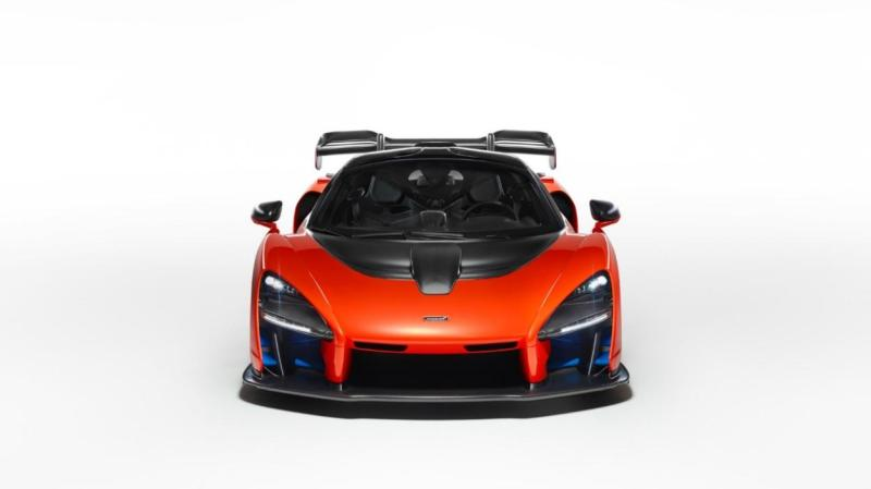 Cover for McLaren Senna - lightweight, combustion-only P1 successor