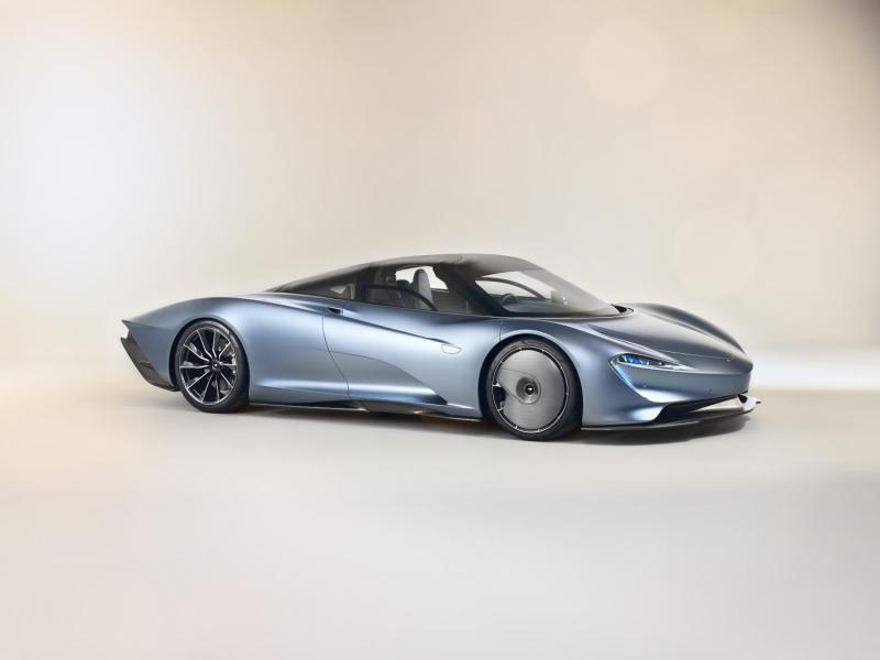 Cover for McLaren Speedtail - yet another McLaren F1 successor