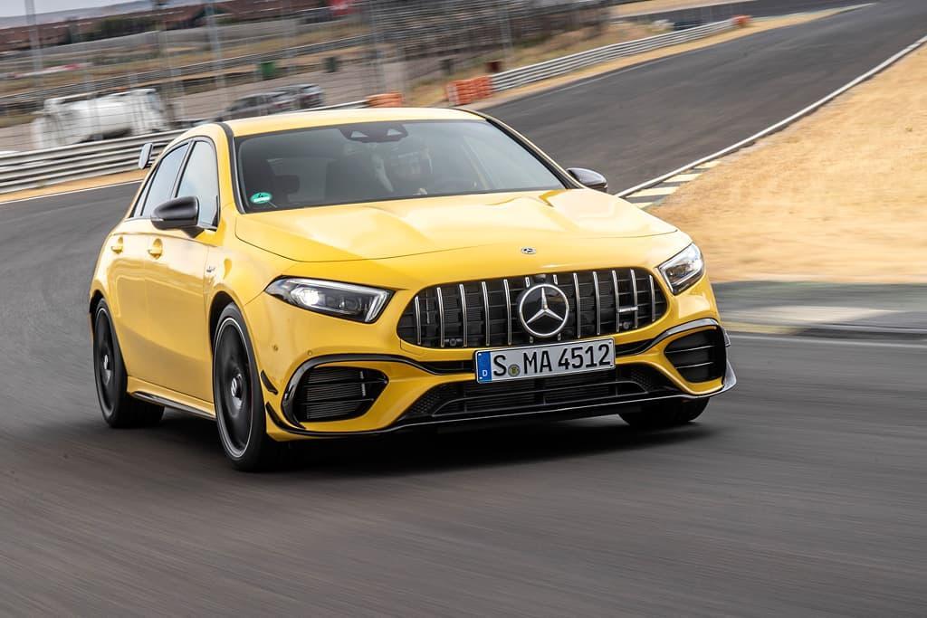 Mercedes Amg A45 S Laptimes Specs Performance Data