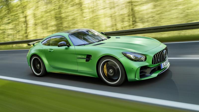 Cover for Mercedes-AMG GT R 7:10.92 min Nordschleife HOT LAP sport auto World's Exclusive First Test