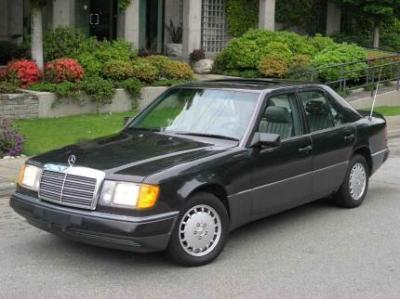 Mercedes-Benz 300E W124 acceleration times