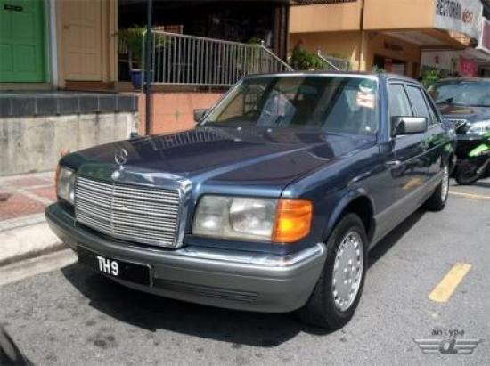 Image of Mercedes-Benz 500 SEL
