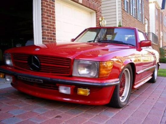 Image of Mercedes-Benz 500 SL 5.4 AMG