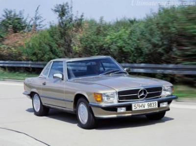 Image of Mercedes-Benz 560 SL