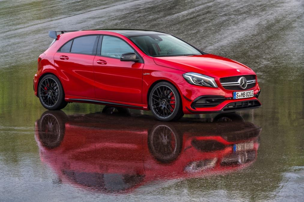 Mercedes Benz A 45 Amg 380 Ps Laptimes Specs Performance Data