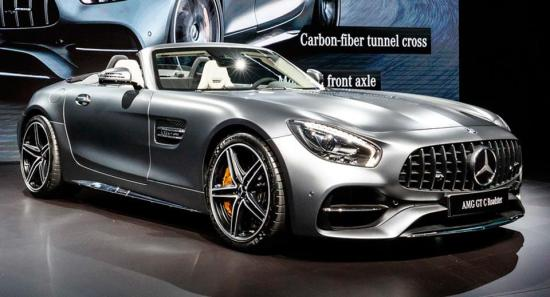 Image of Mercedes-Benz AMG GT C Roadster
