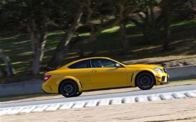 Image of Mercedes-Benz C 63 AMG Coupe Black Series