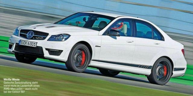 Image of Mercedes-Benz C 63 AMG Edition 507