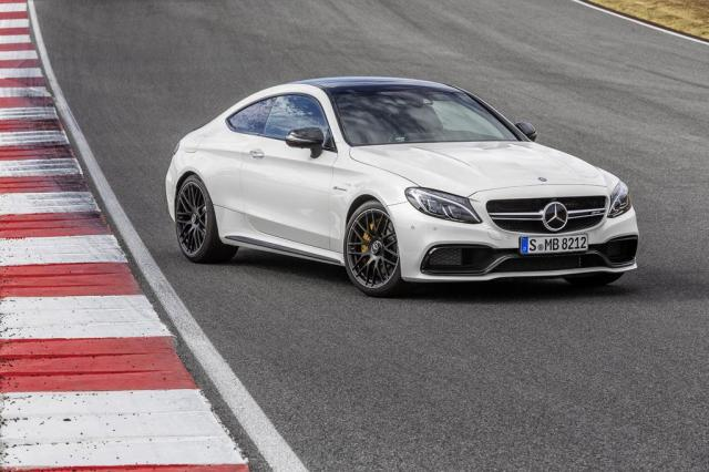 Image of Mercedes-Benz C 63 AMG S Coupe