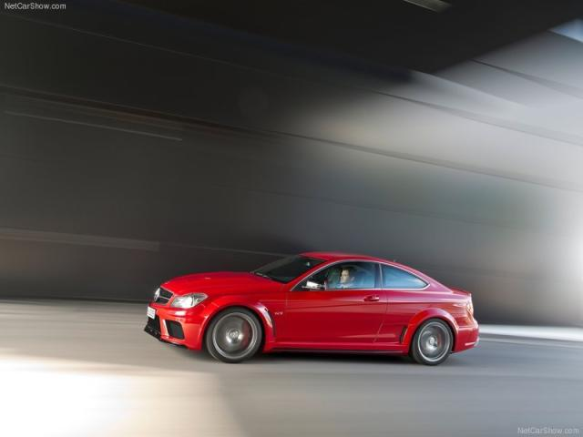 Image of Mercedes-Benz C63 AMG Coupe Black Series