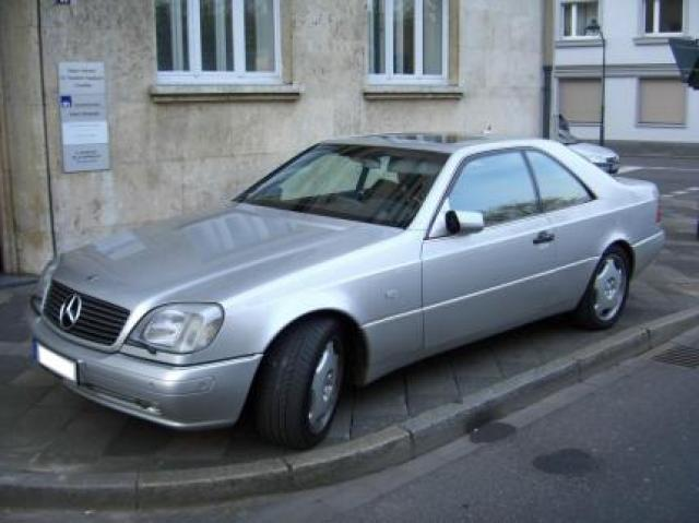 mercedes-benz cl 600 c140 laptimes, specs, performance data