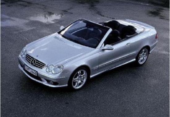 Image of Mercedes-Benz CLK 55 AMG Cabrio