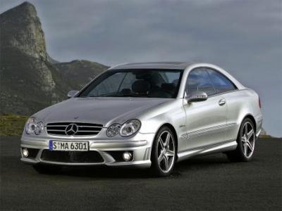 Image of Mercedes-Benz CLK 63 AMG