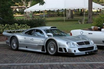 Image of Mercedes-Benz CLK GTR AMG