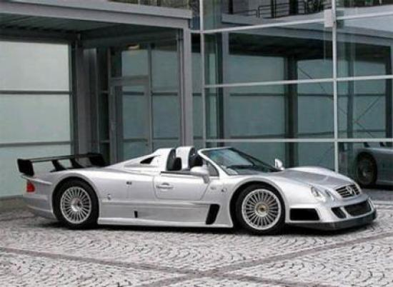 Image of Mercedes-Benz CLK-GTR AMG