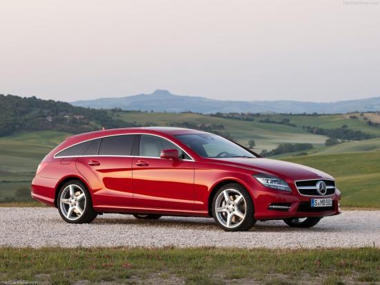 Image of Mercedes-Benz CLS 500 4Matic Shooting Brake