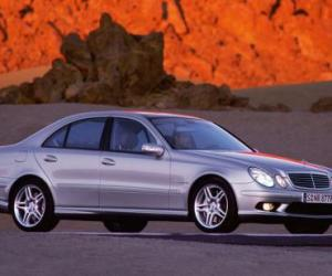 Picture of Mercedes-Benz E 55 AMG