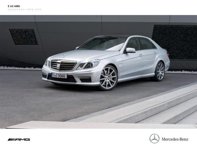 Image of Mercedes-Benz E 63 AMG