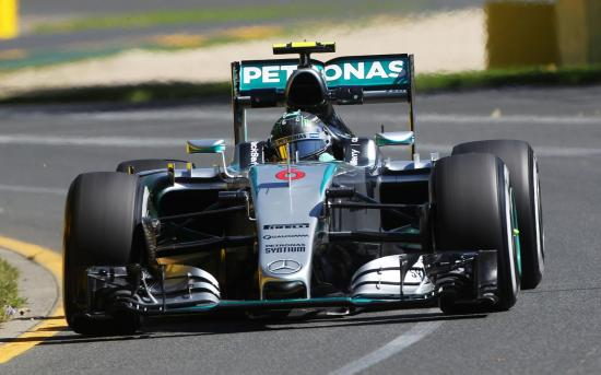 Image of Mercedes-Benz F1 W07 Hybrid